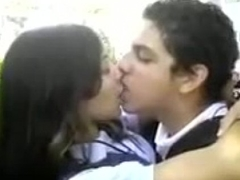 Desi school girl kissing and dating his make obsolete