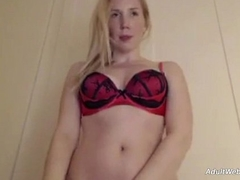 Blonde babe on webcam 9 - AdultWebShows.com