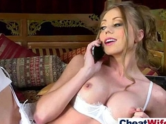 Full-grown Cheating Wife (shawna lenee) Like Hardcore Intercorse clip-26