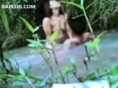 Sexual relations in the river