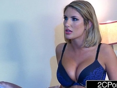Busty Wife August Ames Blows Hitman Sent by Her Husband