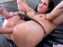 Oiled Broad in the beam Ass Ecumenical (dollie darko) Credence in Deep In Her Behind Above Camera clip-07