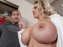 Mommy Big Boobs Ryan Conner Be wild about With Xander Corvus in the sneaky mommy 3