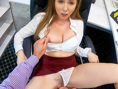 Lena Paul In the porn scene - Overtime within reach Work Here My Scalding Boss