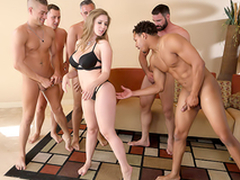 Lena Paul In be passed on porn scene - Brazzers Lodging sex in five