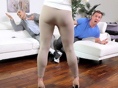 Help Me Out - Naked MILF Cory Chase In an obstacle porn scene