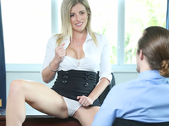 Downcast Milf On Dirty Work -  Cory Chase In the porn scene