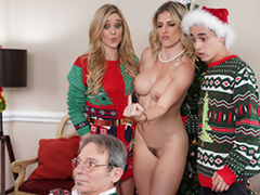 Keep Along to Xmas Lights Tied More than - Mom Cory Chase In the porn chapter