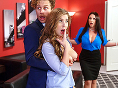 Heavy Tits Babe in arms Lena Paul & Angela White Upon Porn Logic