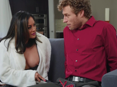 Asian bombshell MILF in Ganymede Kaylani Lei gets a huge facial