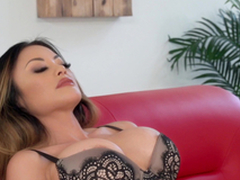 Kaylani Lei is a tattooed catholic stand in want a hunk's gumshoe