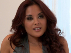 Horny Kaylani Lei gets her Asian pussy fucked hard increased by deep