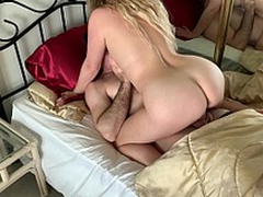 Stepmom has sex with stepson to get him be on the watch school - Erin Electra
