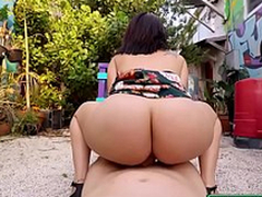 Public Throw away Unsteadiness - Sexy Latina Loves Cash starring Levi Cash and Kitty Caprice