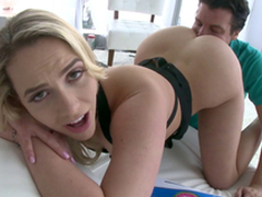 Mia Malkova's unrestricted ass deserves worship