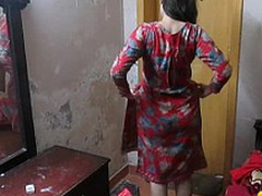 Indian Wife Sonia In Shalwar Suir Strips Naked Hardcore XXX Make the beast with two backs