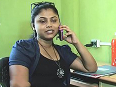 Sales girls huge cleavage edict in inveigling (new)