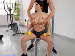 Chubby Titty Workout with Valentina Nappi and Alberto Blanco - Reality Kings HD