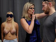 Cory Chase & Vanessa Pen - Hot Daughter Tricked buy a Threesome with Mom & Dad