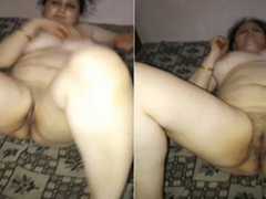 Exclusive- Blue Paki Bhabhi Knockers and Pussy Capture By Hubby