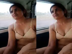 Today Exclusive- Desi Call Tolerant Fucked In Car