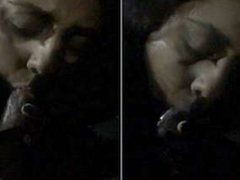 Today Exclusive- Randy Desi Wife Blowjob in Car