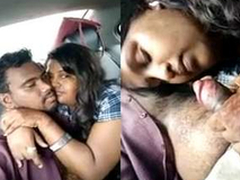 Every now Exclusive-Telugu Girl Sucking Lover Dig up On Car