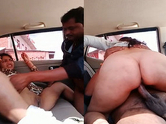 Exclusive- Sexy Bhabhi Blowjob and Fast Fucked Wits Sweetheart In Car