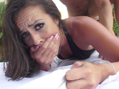 Kelsi Monroe acquires maximum appreciation when XXX buddy fucks one as well as the other holes