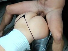 Bootylicious mom together with boyfriend like XXX position called doggystyle