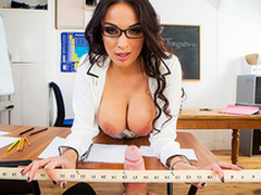 XXX fun with busty cram Anissa Kate makes the lesson more interesting