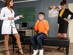 Route gift for student is XXX trio nigh sexy nurse and professor