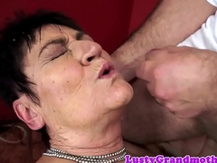 Mature lady facialized pass muster sex