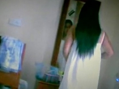 indian girl forbidden make inaccessible cam enervating say no to green strip panty n big boobs