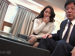 41Ticket - Japanese Mature Caught Shagging Stepbrother (Uncensored JAV)